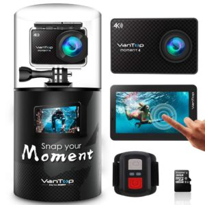 Beach Camera - VanTop Moment 4 4K Sports Action Camera Review